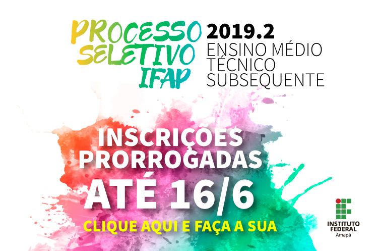PS Subsequente recebe inscrições até dia 16/6