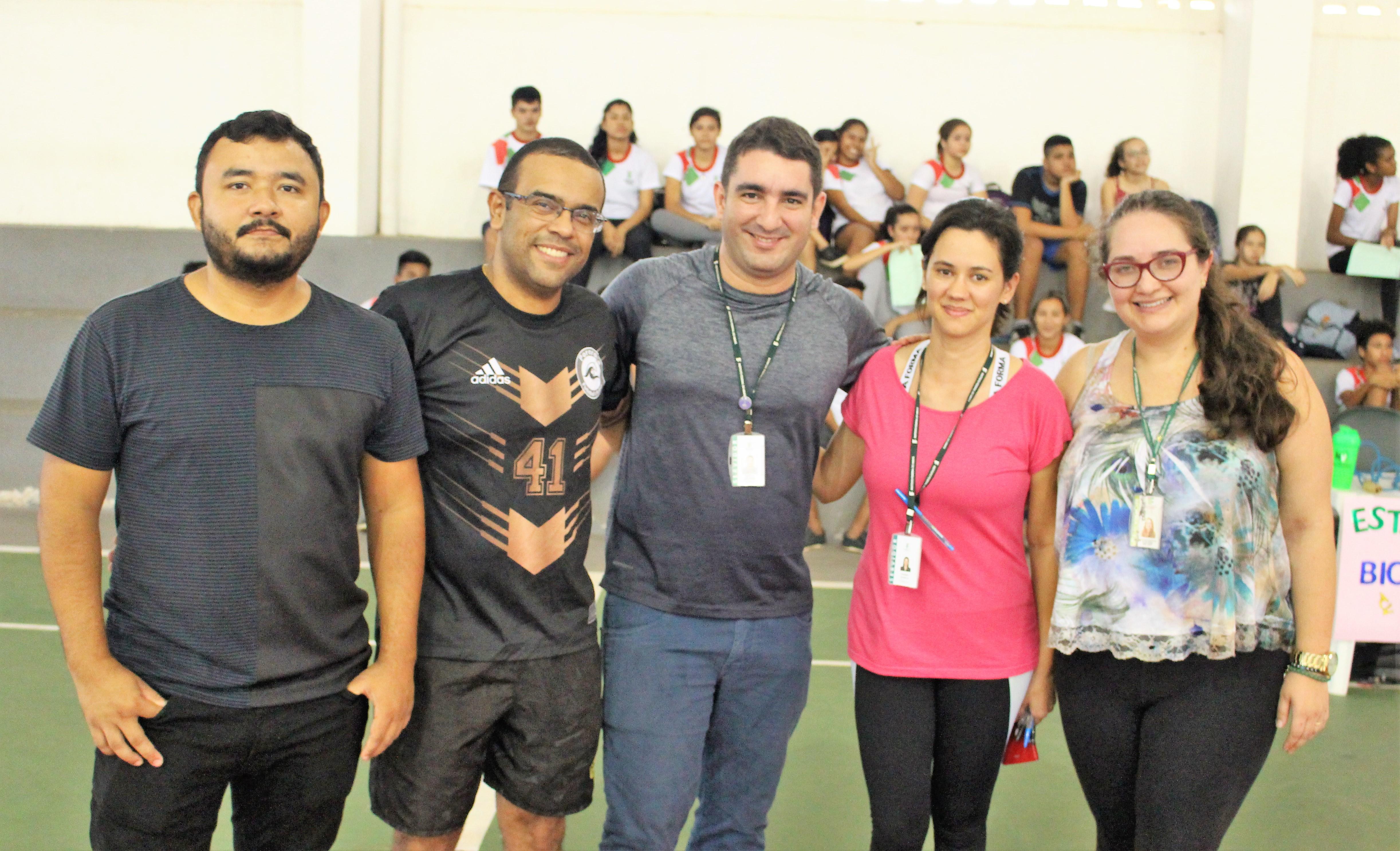 Estudante do campus Santana participam do CrossFit do conhecimento