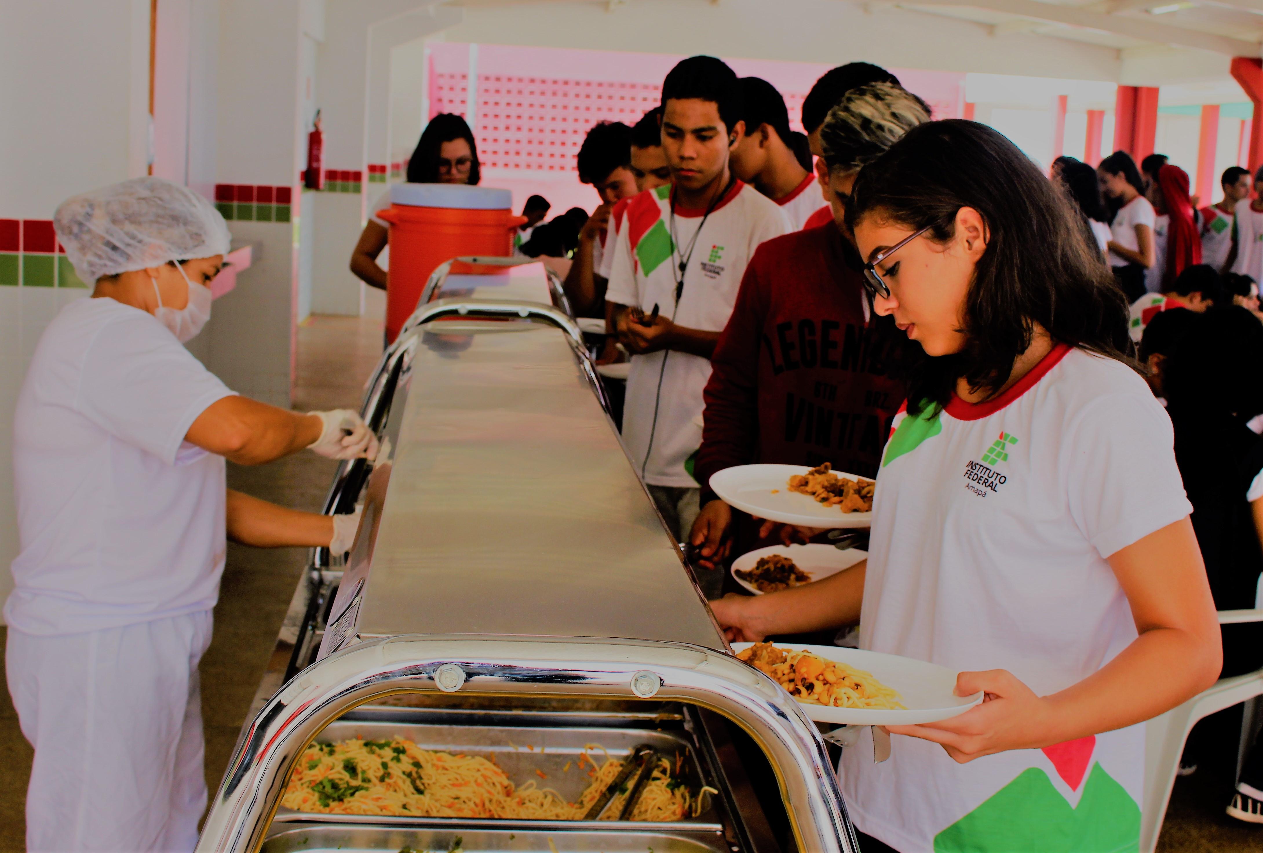 Campus Santana oferece alimentação saudável para os alunos