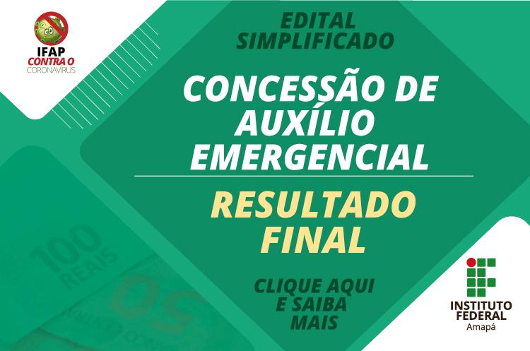 Ifap divulga a lista final do auxílio emergencial