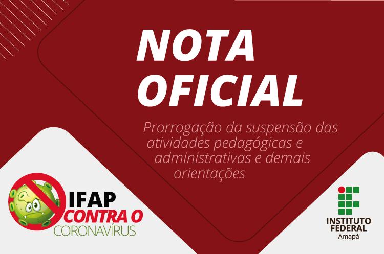 Ifap prorroga suspensão de suas atividades
