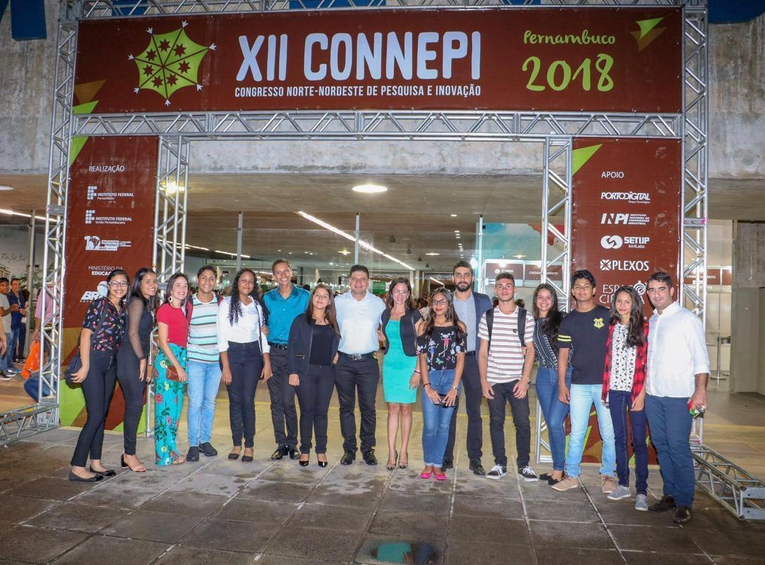 Alunos do campus Santana participam do Congresso Norte Nordeste de Pesquisa e Inovação (Connepi)